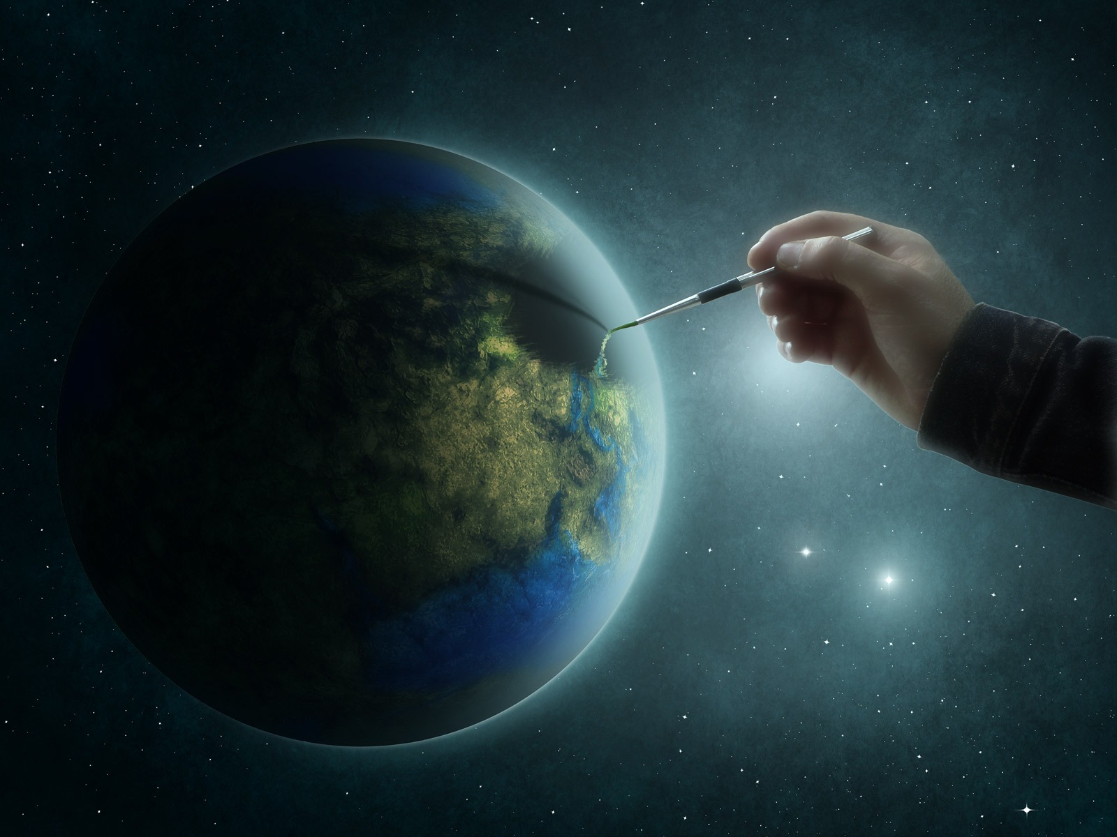 painting_the_earth