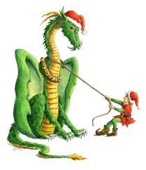 christmas-dragon