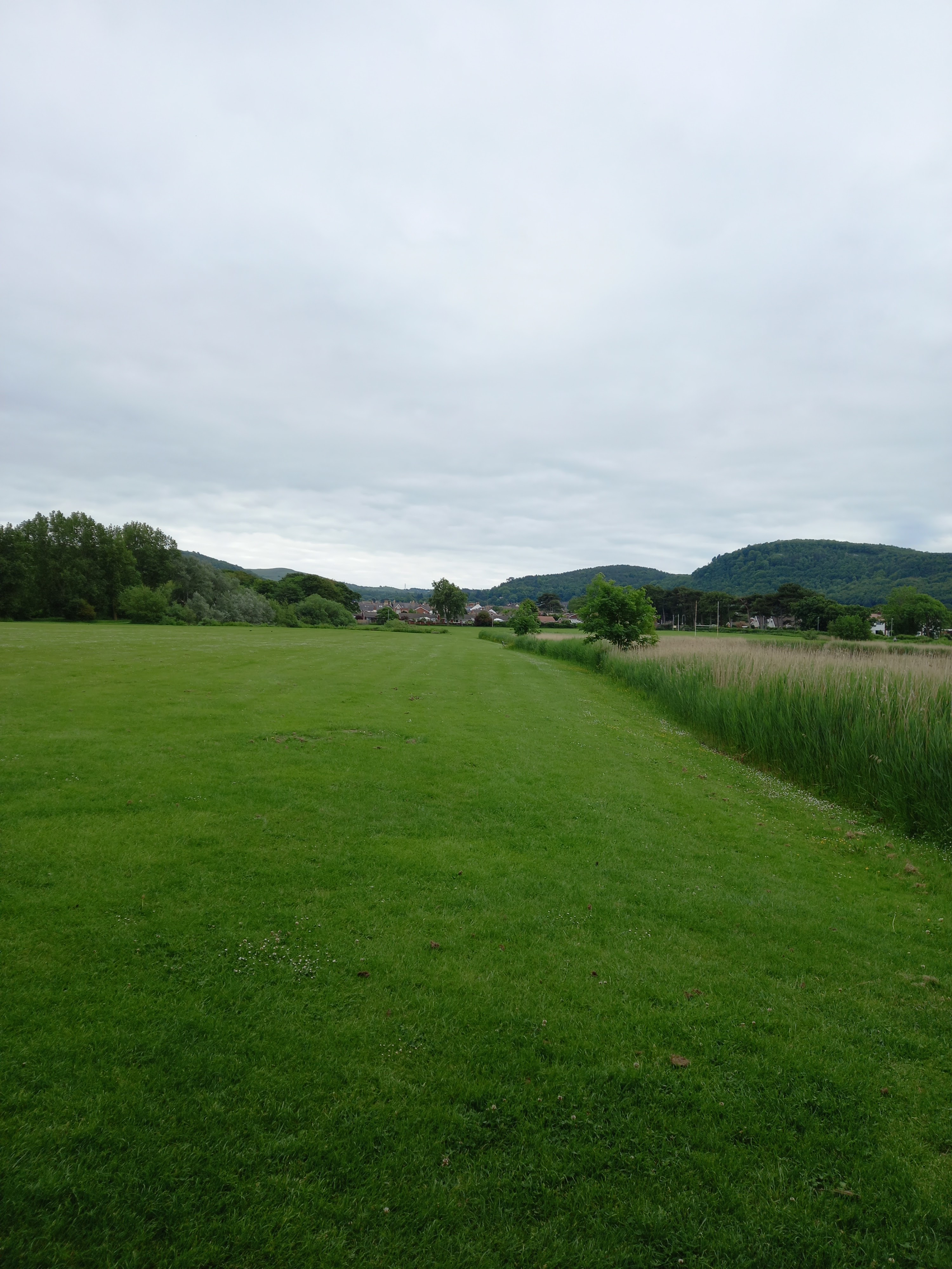 A view of Pentre Mawr park looking towards the Gopa taken by Diane Woodrow