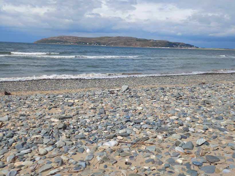 Picture of  looking towards The Great Orme taken from Morfa Conwy by Diane Woodrow